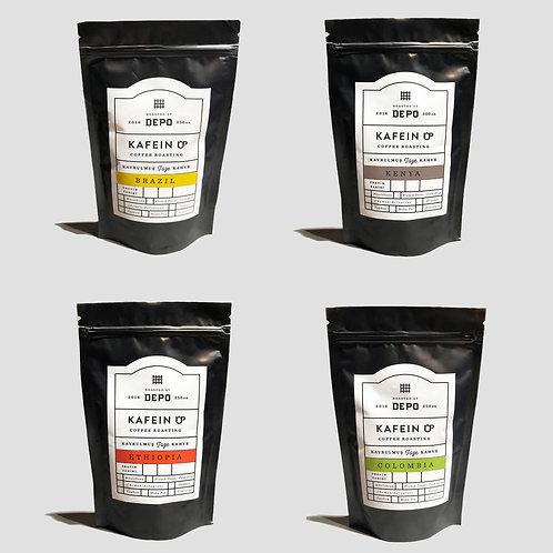 4'lü Filtre Kahve Paketi