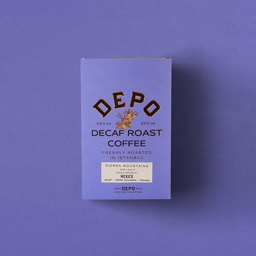 MexicoDecaf (Kafeinsiz Kahve) 250 G