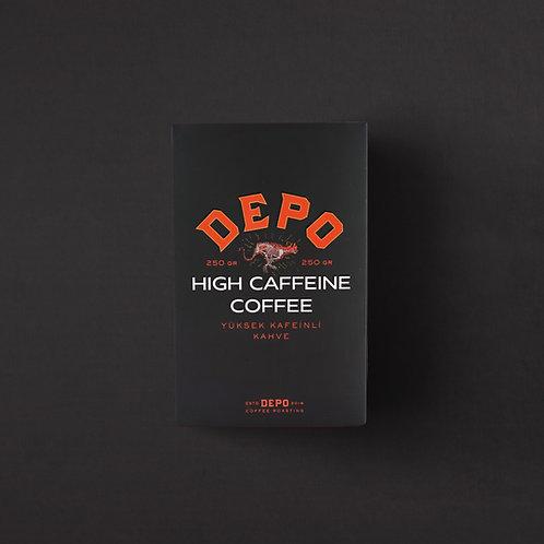 High Caffeine Coffee (Yüksek Kafeinli) 250 G