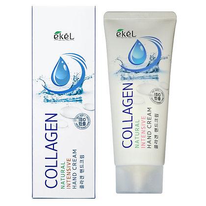 Интенсивный крем для рук с Коллагеном EKEL Collagen Natural Intensive Hand Cream