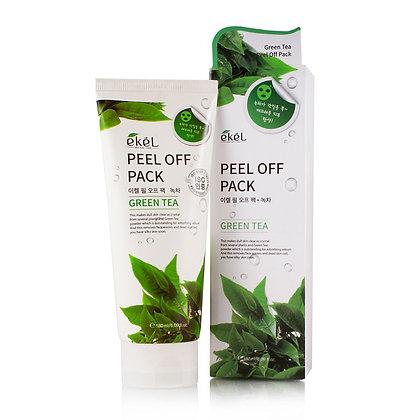 Маска-плёнка с экстрактом зеленого чая EKEL Peel Off Pack Green Tea