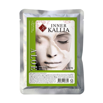 INNER KALLIA Special Aloe modeling mask  Альгинатная маска c экстрактом Алоэ