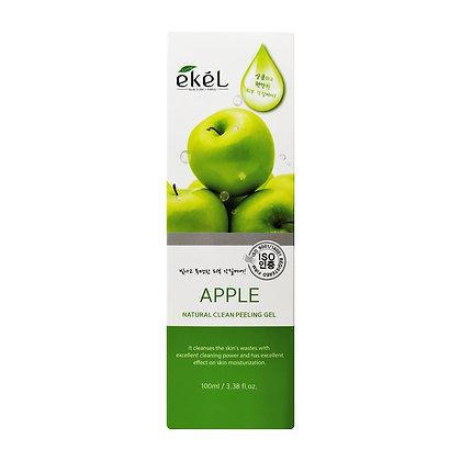 Пилинг-скатка с экстрактом зеленого яблока - EKEL Apple Peeling Gel 100 ml