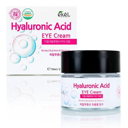 Крем для кожи вокруг глаз увлажняющий с гиалуроновой кислотой EKEL Hyaluronic Acid Eye Cream