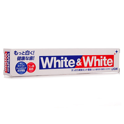 LION WHITE & WHITE  Зубная паста отбеливающая