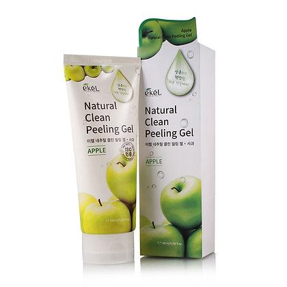 Пилинг-скатка с экстрактом зеленого яблока EKEL Apple Natural Clean Peeling Ge