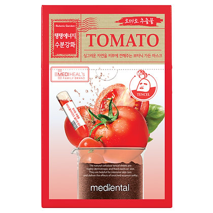 "Маска для лица ""Томат"" - Mediental Botanic Garden Mask"