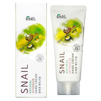 Интенсивный крем для рук с Муцином УЛИТКИ EKEL Snail Natural Intensive Hand Cream