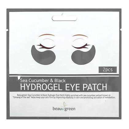 BEAUUGREEN Sea Cucumber & Black Hydrogel Eye Patch (2pcs)  Гидрогелевые патчи с экстрактом черного морского огурца (2шт)