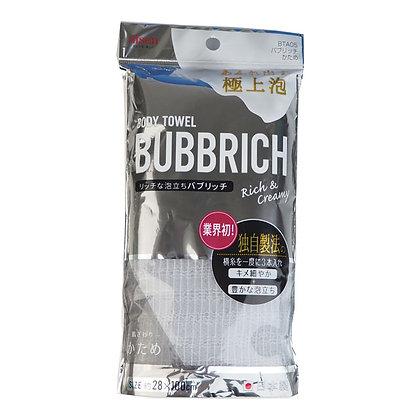 Мочалка для тела с высоким пенообразованием жесткая AISEN Bubbrich