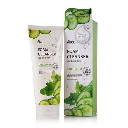 Пенка для умывания с экстрактом огурца EKEL Cucumber Foam Cleanser