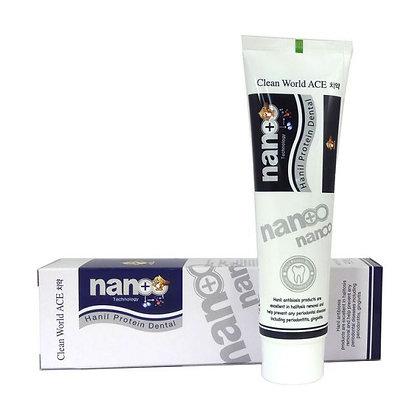 Зубная паста с серебром и протеином Hanil Nano