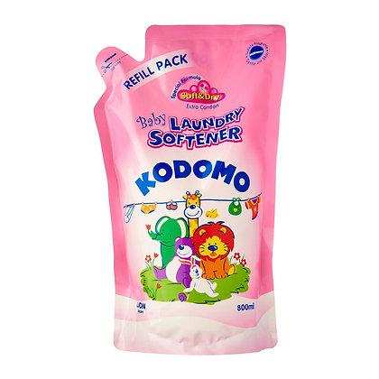 LION KODOMO BABY LIQUID SOFTENER (МЯГКАЯ УПАКОВКА)  Кондиционер для белья для детских вещей