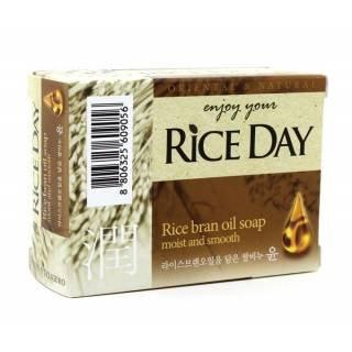 """Мыло с рисовыми отрубями - CJ LION """"Rice Day"""" Rice Bran oil soap"""