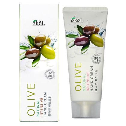 Интенсивный крем для рук с Оливой EKEL Olive Natural Intensive Hand Cream