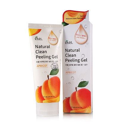 Пилинг-скатка с экстрактом абрикоса EKEL Apricot Natural Clean Peeling Gel