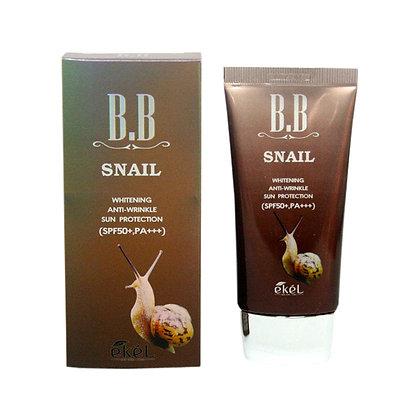BB крем с улиточным муцином - Ekel BB Snail SPF 50+ PA +++