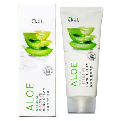 Интенсивный крем для рук с Экстрактом Алоэ EKEL Aloe Natural Intensive Hand Cream