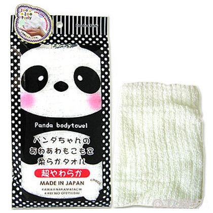 YOKOZUNA Zoo-Zoo Party Panda  Массажная мочалка Панда, мягкая