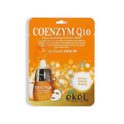 Маска тканевая с коэнзимом Q10 EKEL COENZYME Q10 Ultra Hydrating Essence Mask