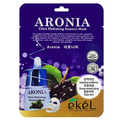 Маска тканевая с экстрактом Аронии - EKEL ARONIA Ultra Hydrating Essence Mask