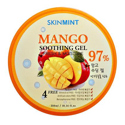 Гель увлажняющий с экстрактом манго 97% - SKINMINT Mango Soothing Gel 97%