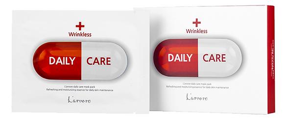 Антивозрастная тканевая маска для лица - L'arvore Daily Care Mask Wrinkless