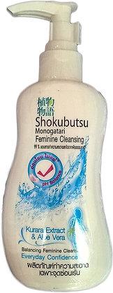 """Гель для интимной гигиены """"Курара и Алоэ Вера"""" - LION Shokubutsu Feminine Cleansing"""