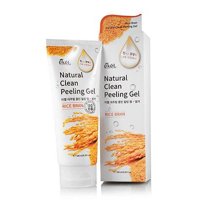 Пилинг-скатка с экстрактом коричневого риса EKEL Rice Bran Natural Clean Peeli