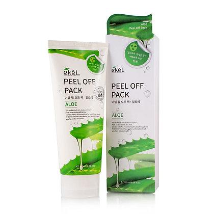 Маска-плёнка с экстрактом алое EKEL Peel Off Pack Aloe