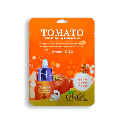 Маска тканевая с экстрактом томата EKEL TOMAT Ultra Hydrating Essence Mask