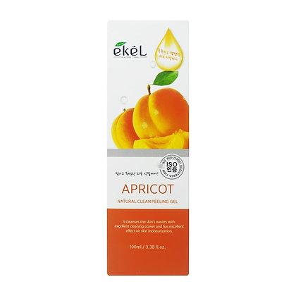 Пилинг-скатка с экстрактом абрикоса - EKEL Apricot Clean Peeling Gel 100 ml