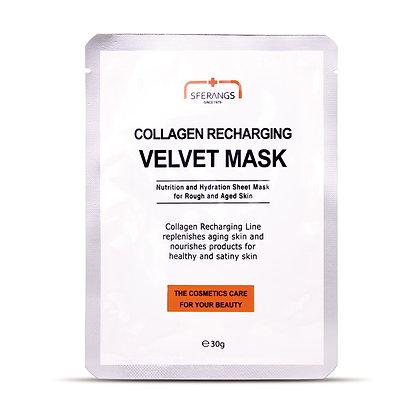 SFERANGS COLLAGEN RECHARGING VELVET MASK   Восстанавливающая маска Velvet с коллагеном
