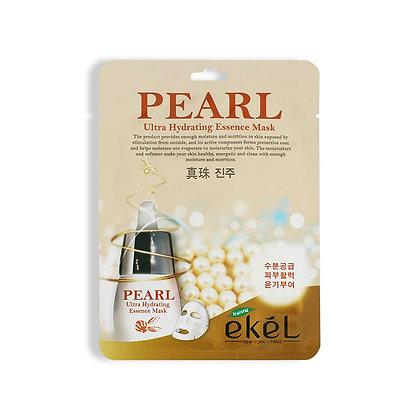 Маска тканевая с экстрактом с жемчуга EKEL PEARL Ultra Hydrating Essence Mask