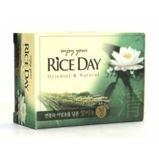 "Мыло с лотосом- CJ LION ""Rice Day"" Lotus soap"