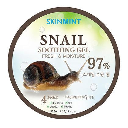 Гель увлажняющий для лица и тела с экстрактом улитки 97% - SKINMINT Snail Gel