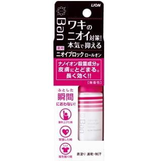 Дезодорант-антиперсперантбез аромата -LION Ban Nano Ion Deodorant Roll On