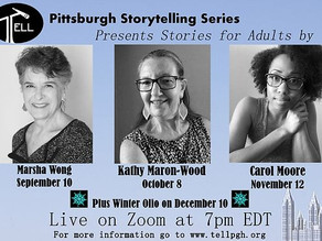 Pittsburgh Storytelling Series Show is Coming!