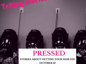 Join me for Pressed on Wednesday, October 21