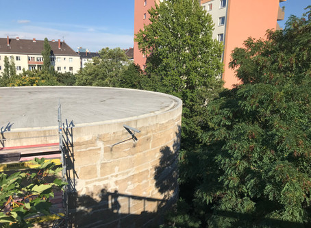 Recherche Skizze #2: Schwerbelastungskörper Berlin Schöneberg