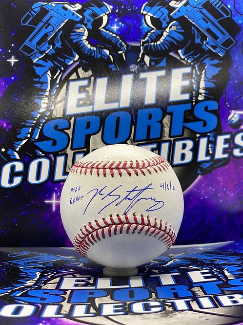 """Ross Stripling """"MLB Debut 4/8/16"""""""