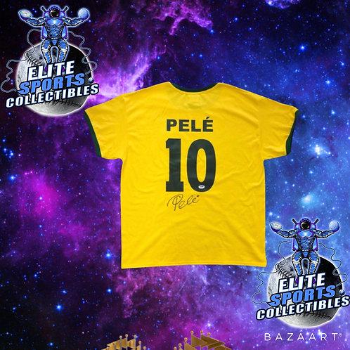 PELÉ Signed Jersey (PSA/DNA)