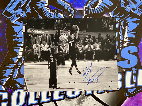 Zach Lavine Signed 11x14 Photo