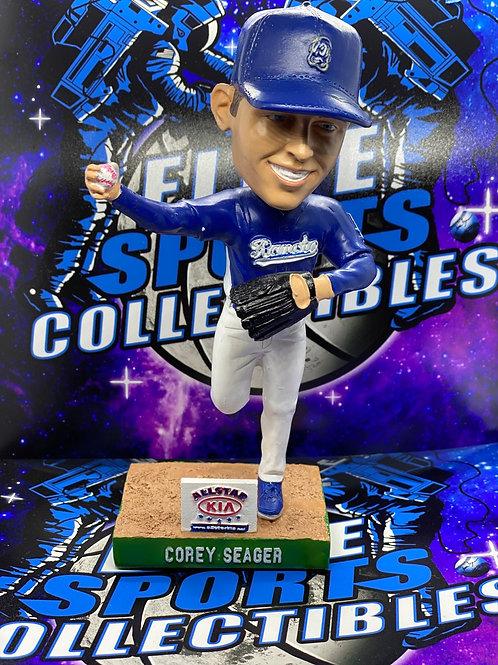 "Corey Seager Signed ""RC Quakes"" Bobblehead (PSA/DNA)"