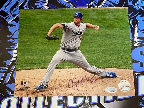 Clayton Kershaw Signed 8x10 Photo (JSA)