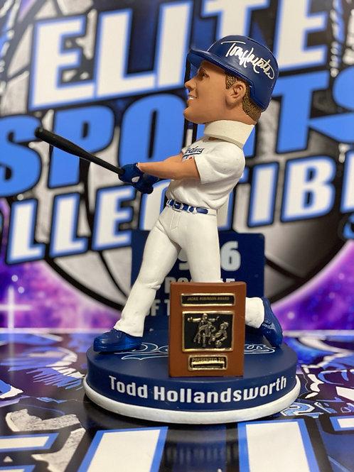"Todd Hollandsworth ""1996 ROY"" Signed Bobblehead (PSA/DNA)"