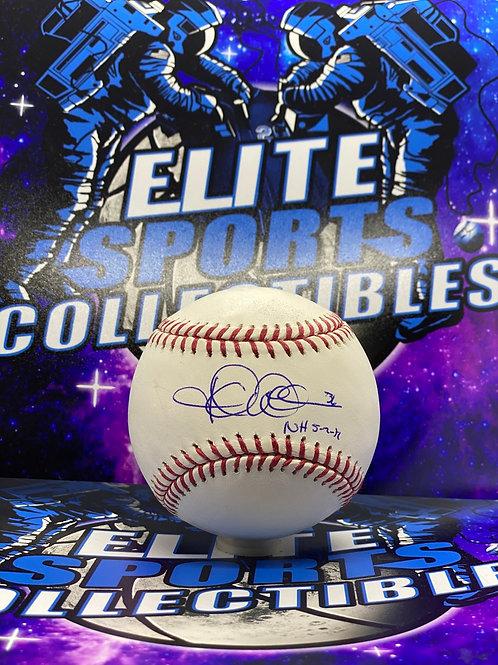 "Jered Weaver ""NH 5-2-12"" (MLB/TriStar)"