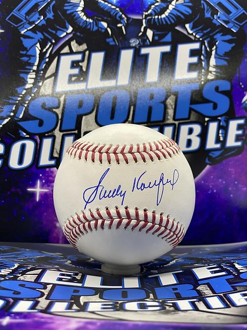 Sandy Koufax (MLB Authenticated)