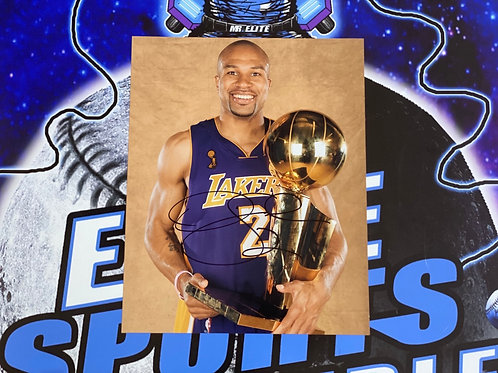 Derek Fisher Signed 8x10 Photo (ESC Authenticated)