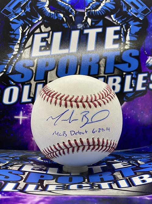 "Mookie Betts ""MLB DEBUT 6-29-14"" (MLB/Fanatics)"